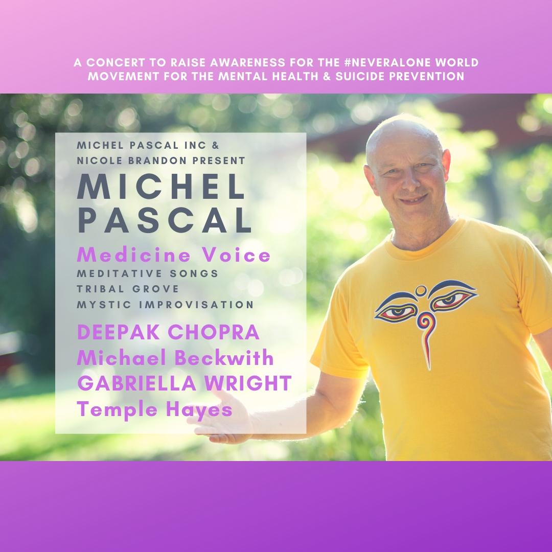 Michel Pascal Inc and Nicole Brandon present Carnegie hall with Deepak Chopra dec 10