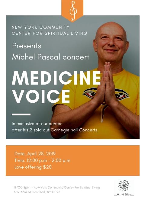 Medicine voice NYC