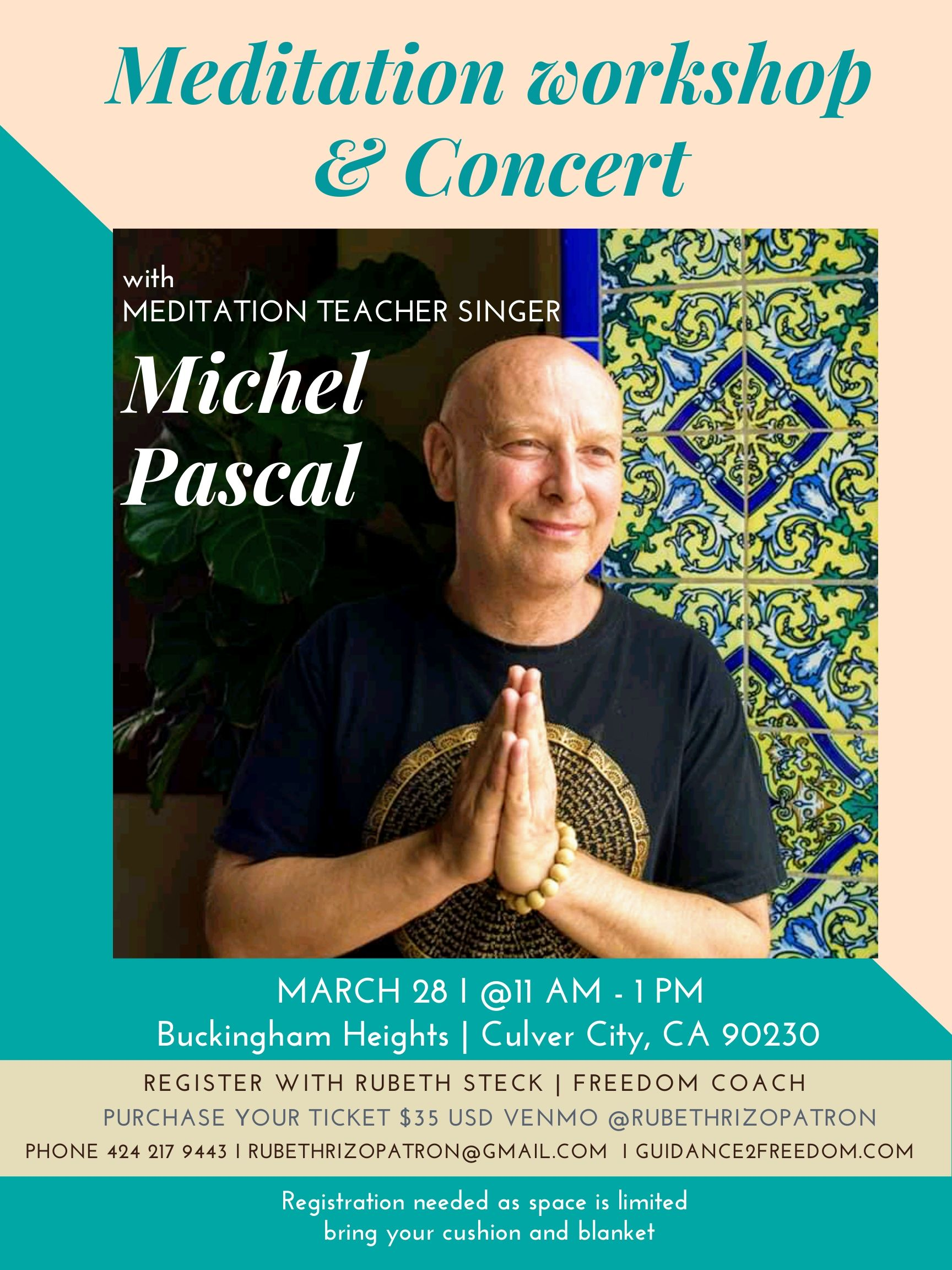Michel Pascal Culver city event
