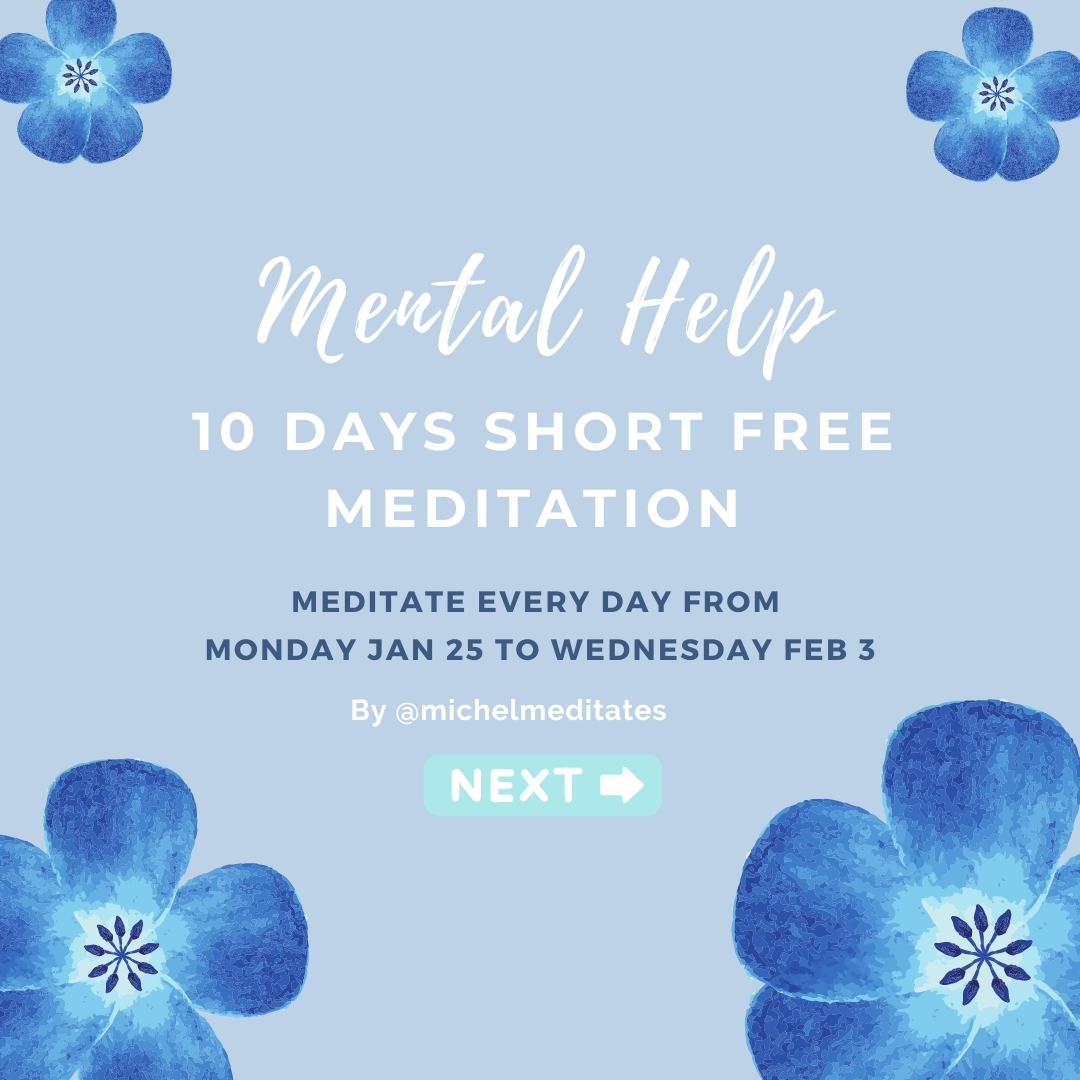 Mental help 10 days event