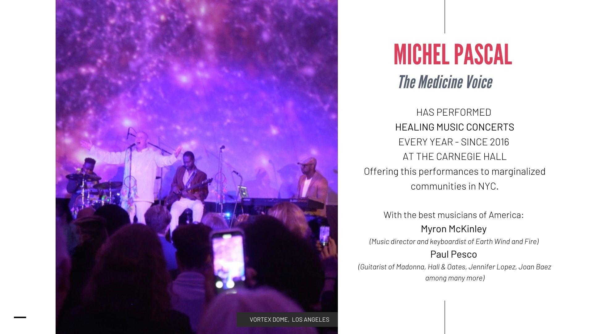 Christmas Eve Concert 2021 Michel Pascal Carnegie Hall
